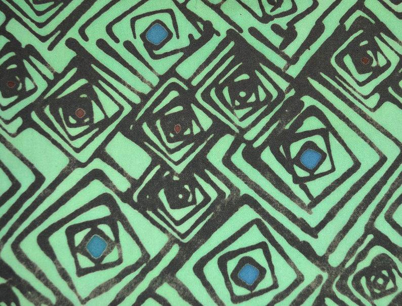 Malaysian Artisan Batik Fabric: Jewel  Squares image 0