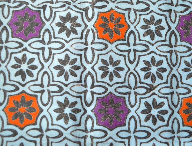 Malaysian Artisan Batik Fabric: Jewel  Cookie 102A429