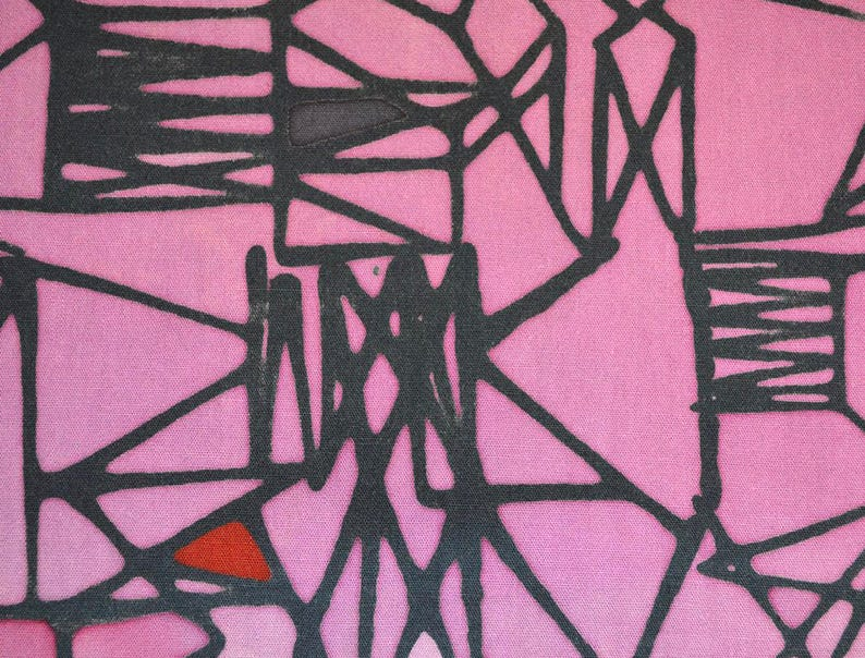 Malaysian Artisan Batik Fabric: Jewel  Scaffold image 0