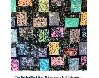Double Crossed Quilt Pattern by Quilting Fabrications Leslie Edwards