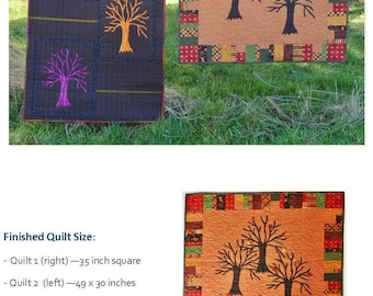 Enchanted Forest Quilt Pattern by Quilting Fabrications Leslie Edwards