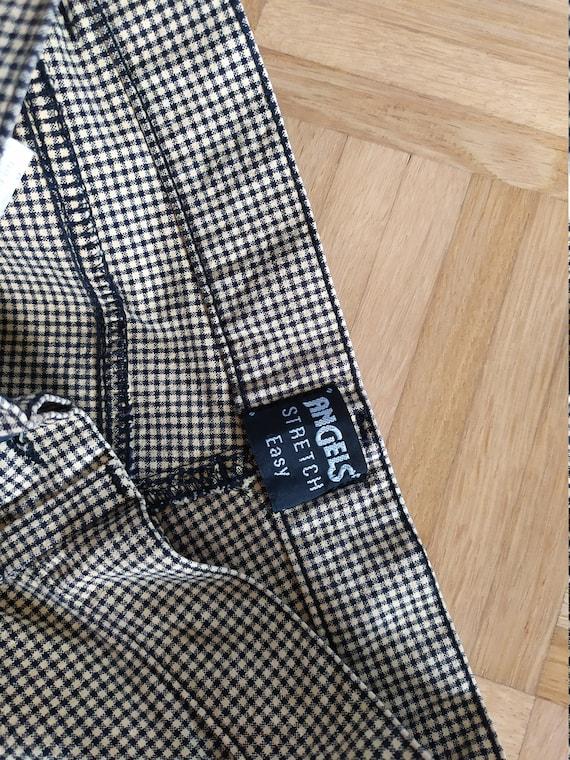 Vintage Tweed Pants | 80s does 50s Plaid Trousers… - image 8