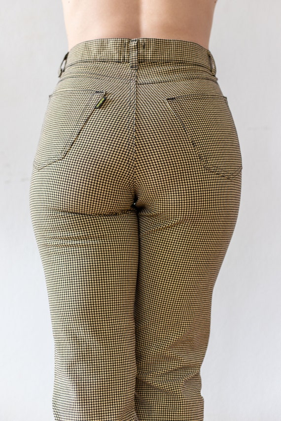 Vintage Tweed Pants | 80s does 50s Plaid Trousers… - image 7