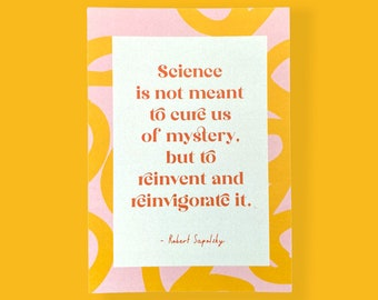 Science A6 Little Print Pack