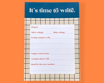 It's Time To Write A5 Notepad