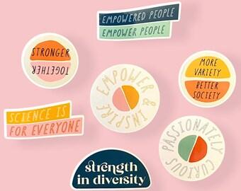 Empowered & Diverse Little Sticker Pack