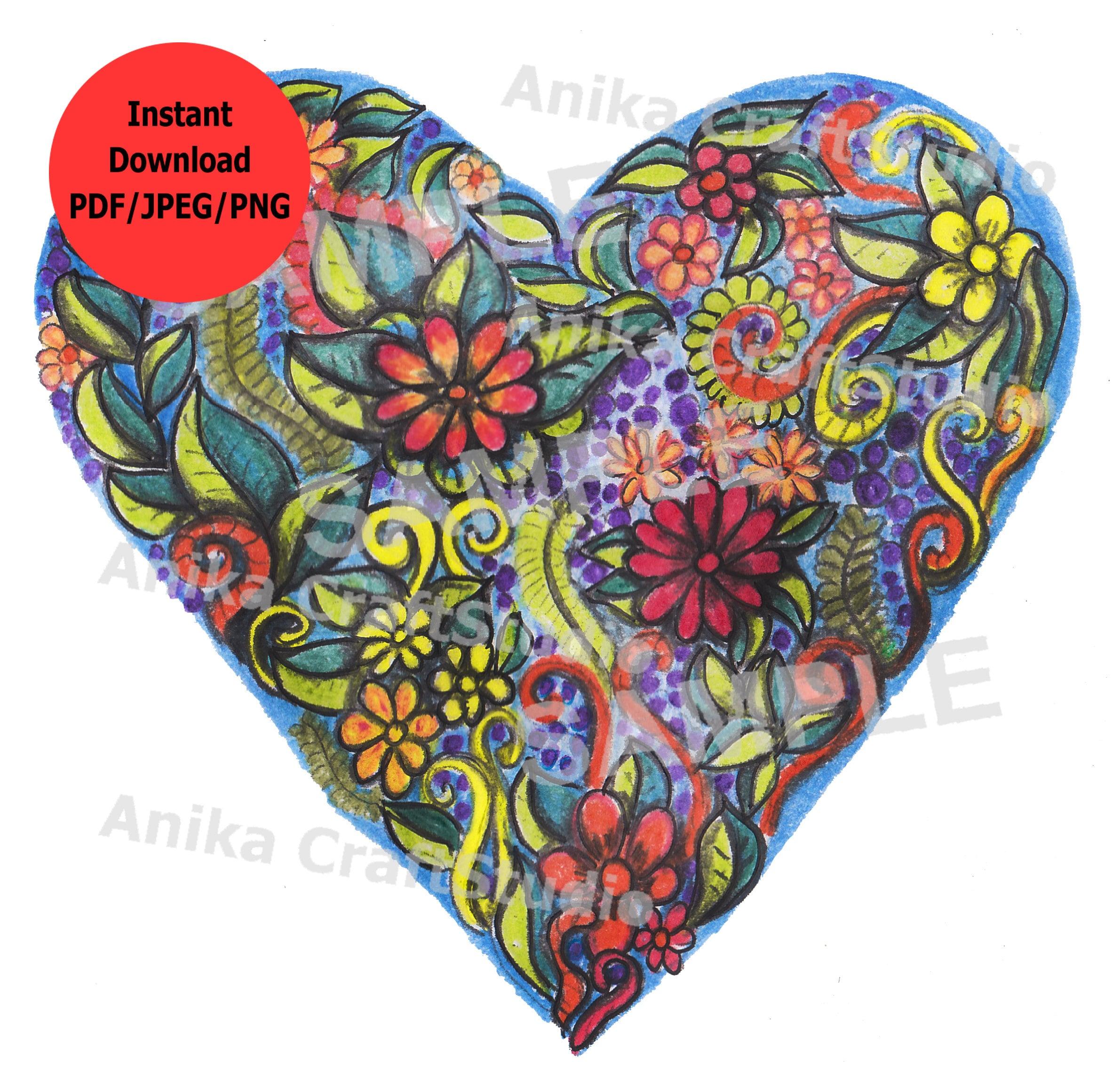 Coloriage Coeur Pdf Coloriages Magiques Apanageet Com