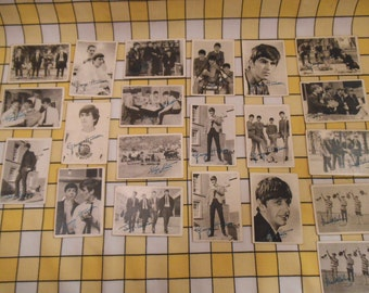 The Beatles A & BC Chewing Gum Ltd Collectable Cards - Assorted Numbers c.1960s