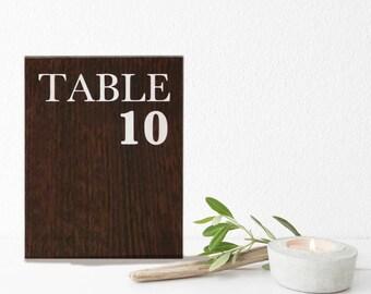 Numéro de table | Numéros de table pour mariage | Les chiffres pour la vente de table | Numéros de table signes | Tableau des numéros de 1 à 20 | Numéros de Table rustique
