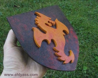 Dragon Crest wall sculpture