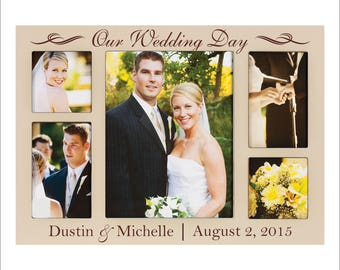 wedding frames etsy