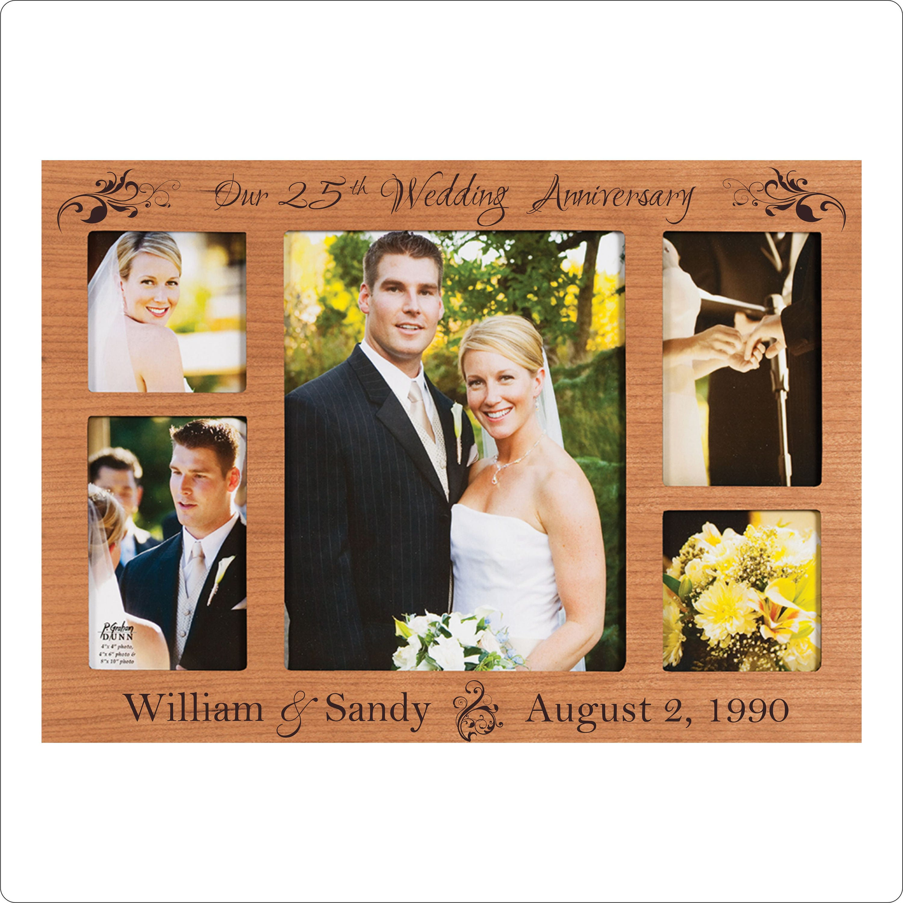 Personalized Anniversary Frame 1st 5th 10th 25th 50th Etsy