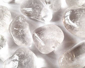 Rock crystal - wrapped stone