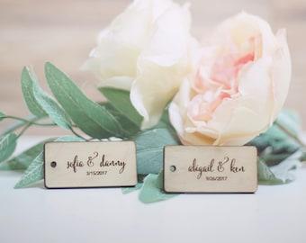 Couple Wedding Tags - Gifts, Luggage, etc