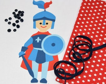 "Sewing Kit - cushion ""Knight"" piped sewing - DIY"