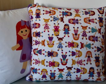 "Sewing Kit - cushion ""dolls"" piped sewing - DIY"