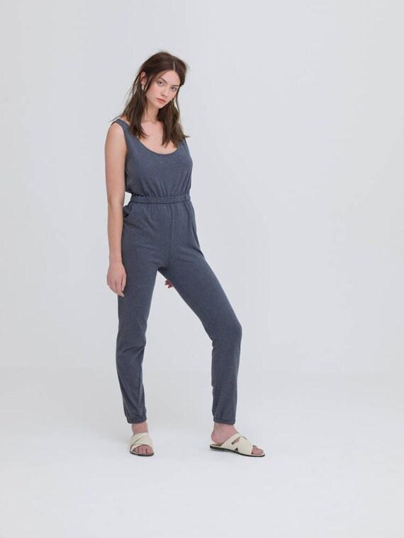 d8bebf9761b2 Organic cotton jumpsuit jumpsuit sustainable fashion womens