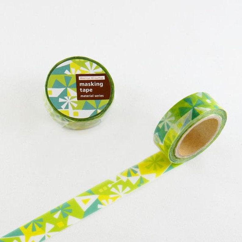ROUND TOP GREEN 20mm x 5m Masking Tape