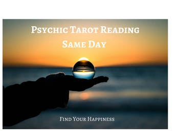 Psychic Tarot Reading Same Day - 3 Questions