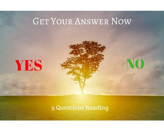 YES or NO Psychic Reading Same Day