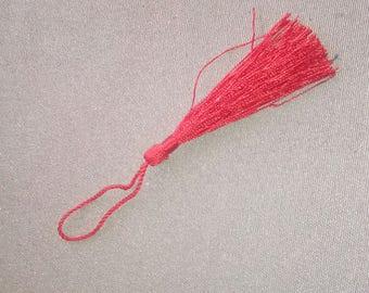 Long length red tassel 10cm
