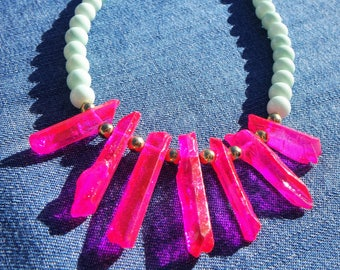 Pink Sunset Necklace