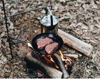 Pan Mini Fire Anchor.       Swing arm / Bushcraft / Camping / BBQ / Bushcraft Gear / Camping Gear / Cooking Equipment