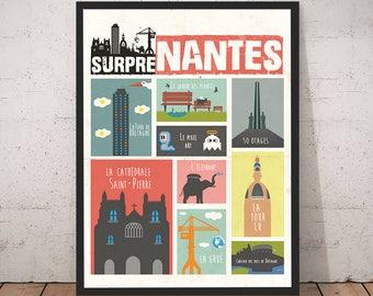 Affiche Nantes – SurpreNantes