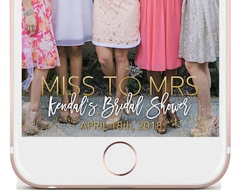 Bridal Shower Filter, Bridal Shower Geofilter, Bridal Shower Snapchat, Bridal Shower Party, Bridal Shower Snapchat Filter, Miss To Mrs Snap