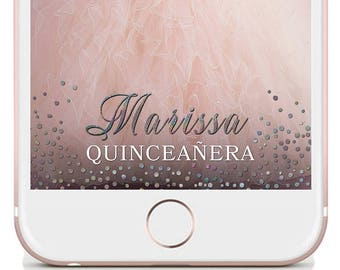 Quinceanera Geofilter, Snapchat Quinceanera, Quinceañera Snapchat, Quinceanera Geofilter, Quinceañera Geofilter, Snapchat Quince Filter