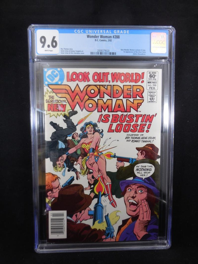 Wonder Woman #288 CGC 9 6 White Pages 1st App Silver Swan