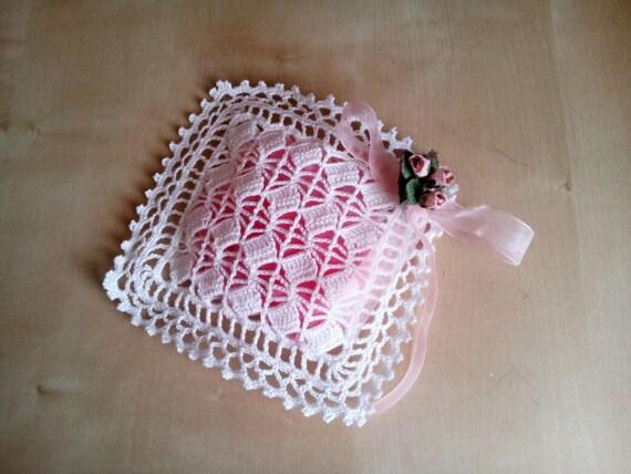 Crochet Wedding Favor Bag Handmade Etsy
