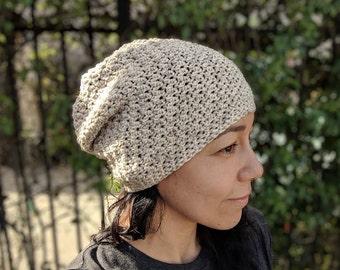 CUSTOM Voyager Slouchy Hat, Crochet Hat, Crochet Beanie, Slouchy Beanie, Handmade Hat