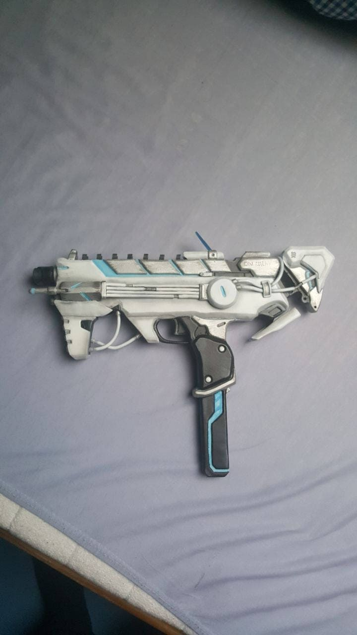 Cyberspace Sombra Gun Overwatch | Etsy