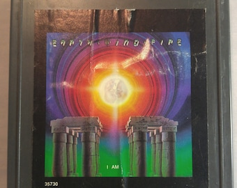 Earth Wind And Fire I Am Vintage 8 Track Tape Cartridge