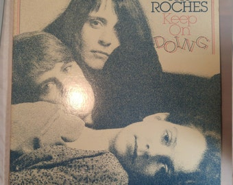 The Roches Keep on Doing vintage vinyl record album