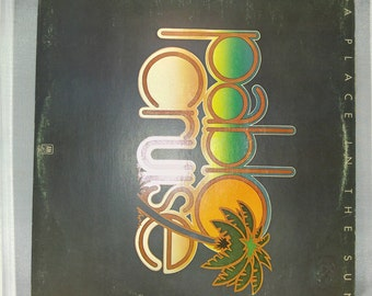 Pablo Cruise - A Place In The Sun Vintage vinyl record album