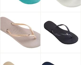 af38e3cd0ada2d Havaianas Slim Crystal Glamour Womens Flip Flops all colors Sizes online  shop 0d7bd ...