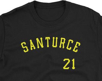 Unisex Men Women Puerto Rico Shirt Santurce 21 Shirt Puerto Rico Baseball  Shirt Roberto Clemente Shirt Santurce Shirt La Placita Shirt ee70aa4b05