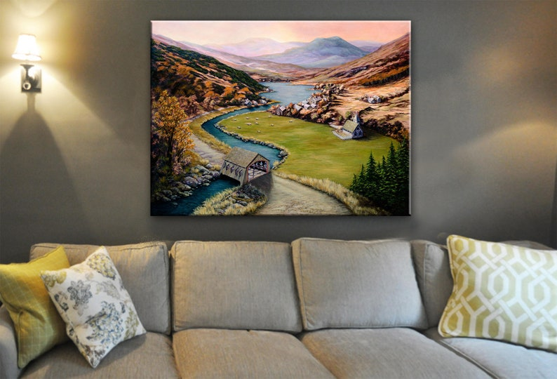Fall Painting  Autumn Leaves  Landscape Painting  Covered image 0