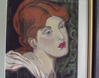 romantic portrait of the lovely gabrielle