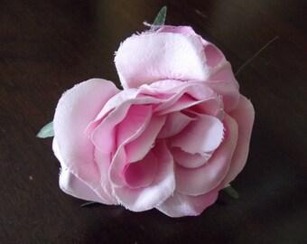 a pretty pink for a pretty brooch