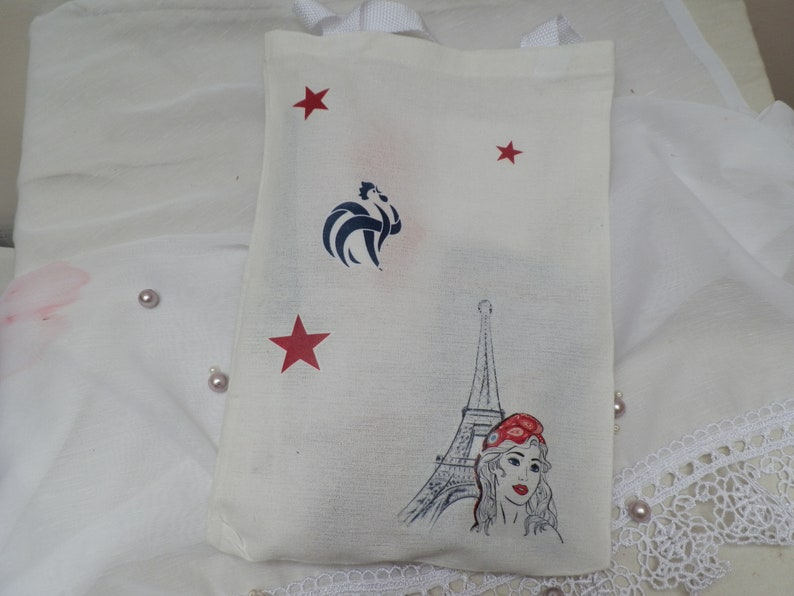 Kit bear France and bag