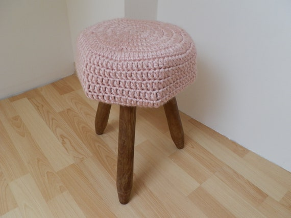Phenomenal Wooden Stool And Detachable Woolen Cushion Pdpeps Interior Chair Design Pdpepsorg