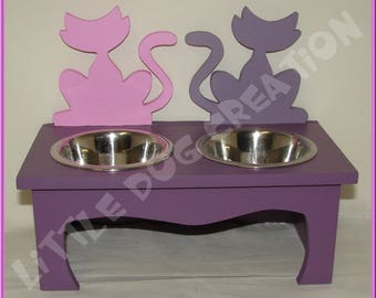Support cat bowls
