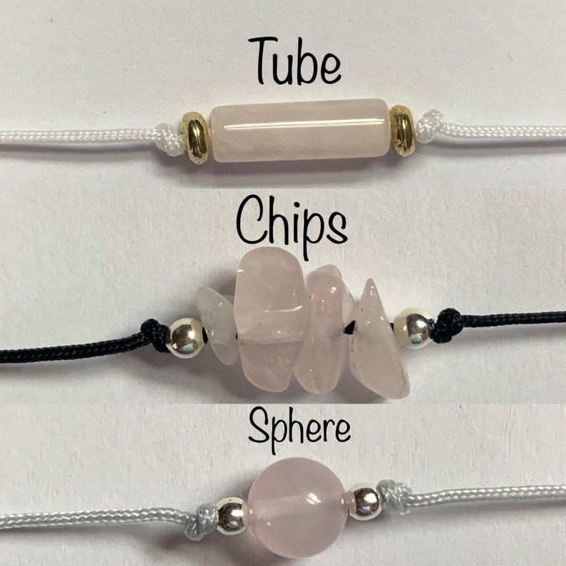 rose quartz bracelet, IVF fertility wish bracelet Fertility Bracelet