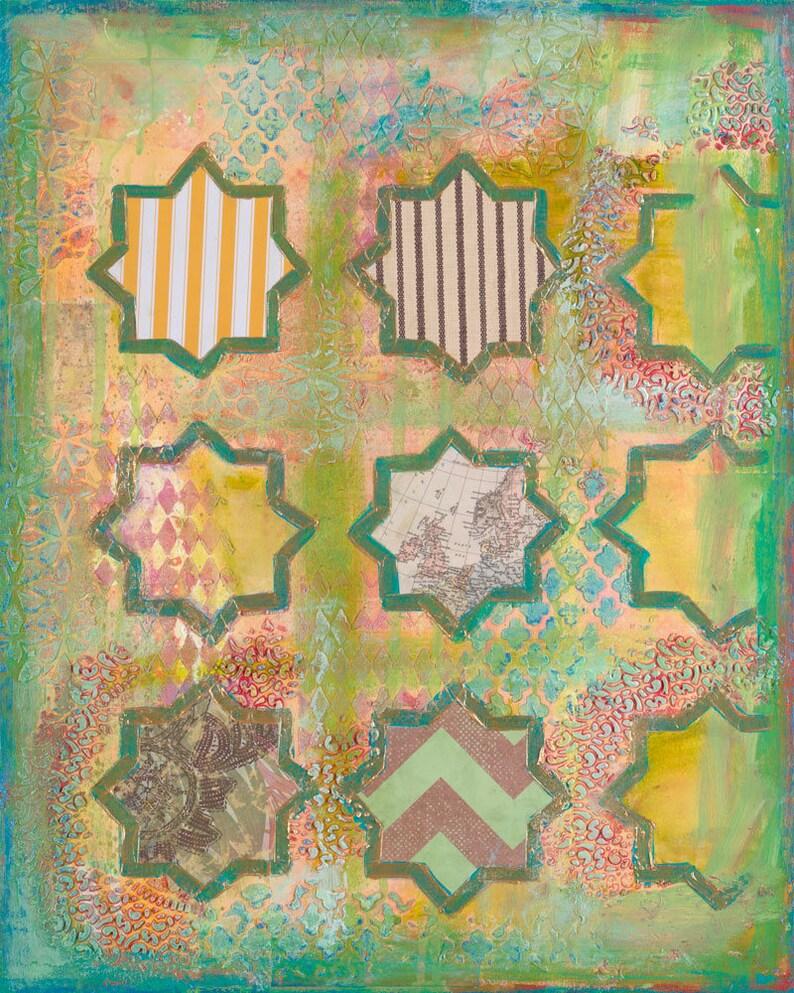 Art print 'Intelligence' 12x18 Islamic art Pop image 0