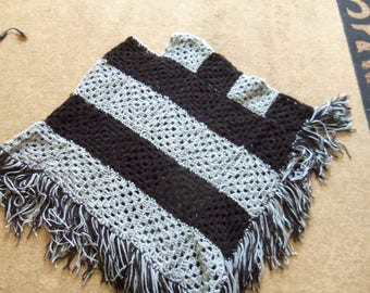 Nice hand knitted poncho