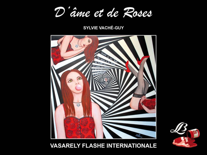 Book of soul and Roses  Vasarely flashed international image 0