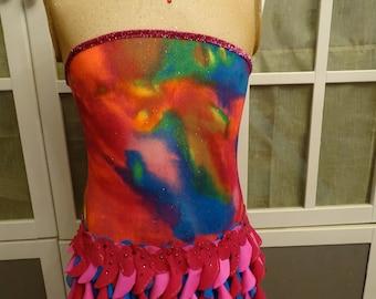Leotard skirt size XL - 42 GR, skating, baton Twirling, Dance, skating, ect...